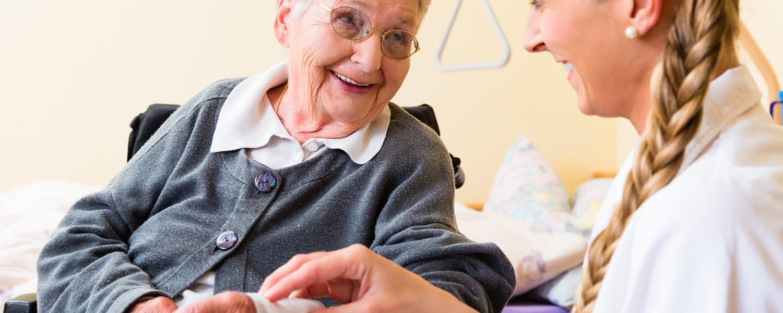 Zur Erweiterung unseres Pflegeteams suchen wir:
